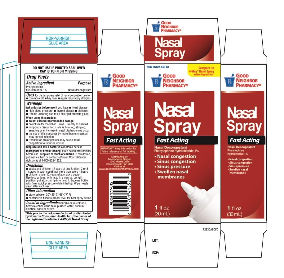 Good Neighbor Pharmacy Nasal Spray Fast Acting