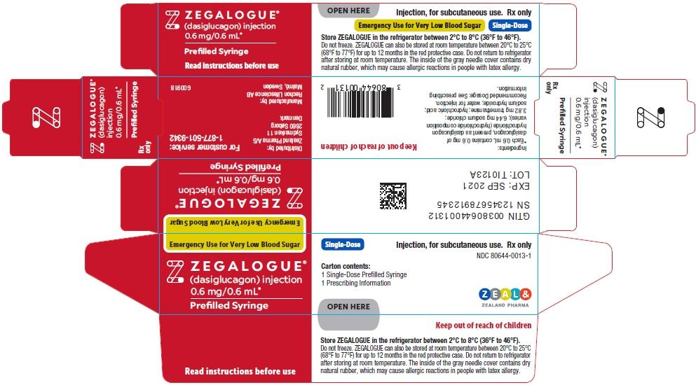 PRINCIPAL DISPLAY PANEL - 0.6 mg/0.6 mL Prefilled Syringe Carton