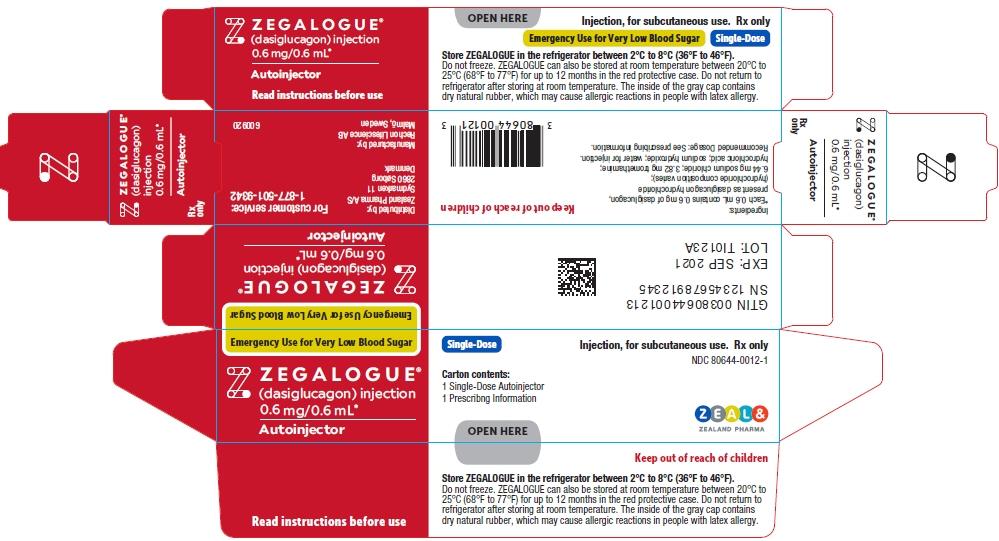 PRINCIPAL DISPLAY PANEL - 0.6 mg/0.6 mL Autoinjector Carton