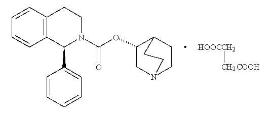 structure of Solifenacin succinate