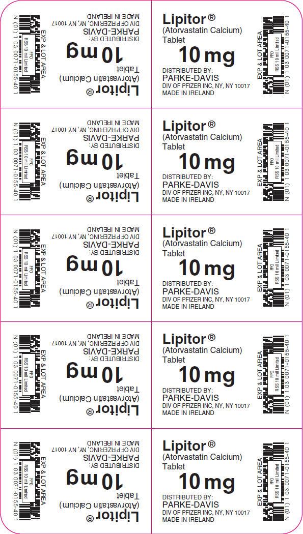 PRINCIPAL DISPLAY PANEL - 10 mg Tablet Blister Pack