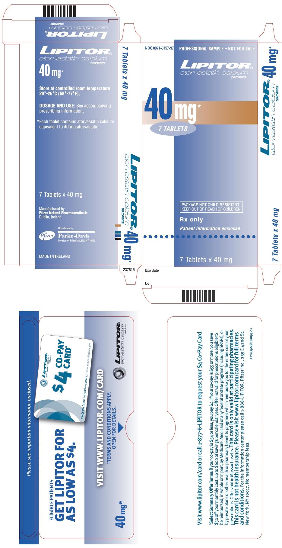 PRINCIPAL DISPLAY PANEL - 40 mg Tablet Packet Carton