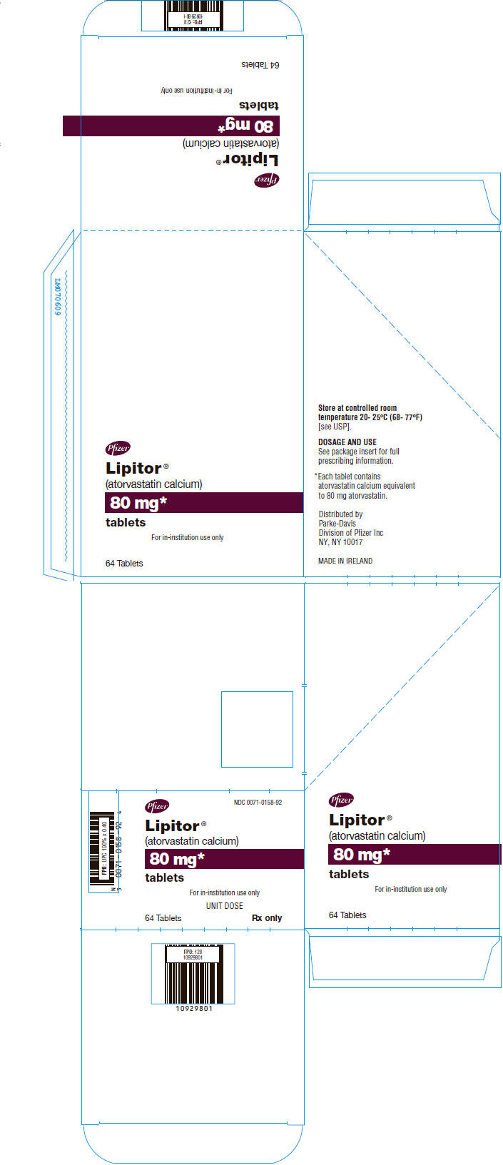 PRINCIPAL DISPLAY PANEL - 80 mg Tablet Blister Pack Carton
