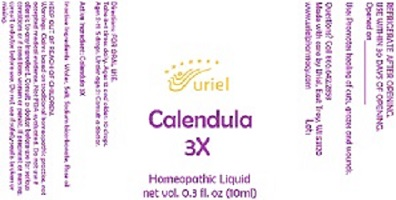 Calendula 3X 10ml Drops
