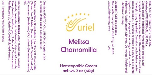 Melissa Chamomilla Cream