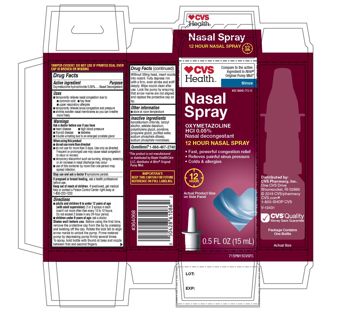 CVS Health Sinus Nasal Spray