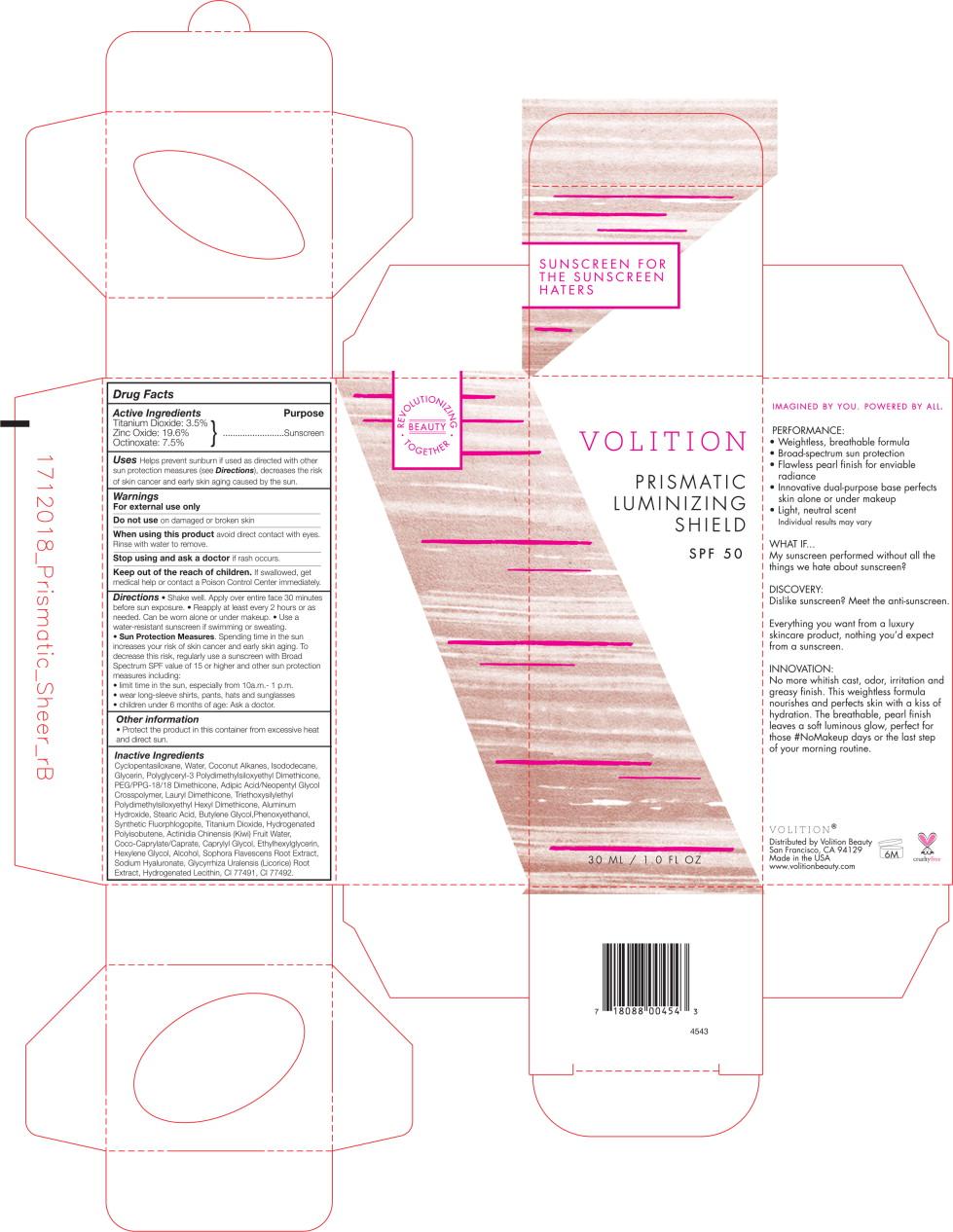 Principal Display Panel - Prismatic Protectant SPF50 30ml Bottle Label