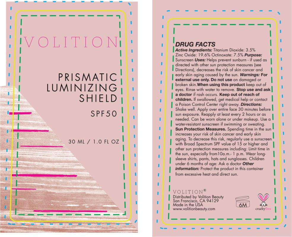 Principal Display Panel - Prismatic Protectant SPF50 10ml Bottle Label