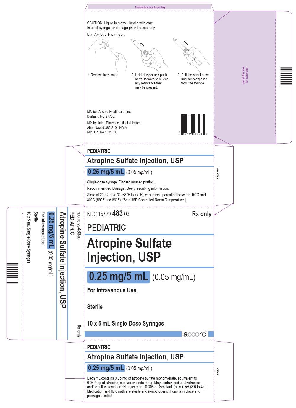 PRINCIPAL DISPLAY PANEL - 10 x 5 mL Syringe Carton