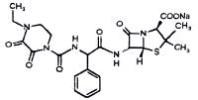Structure of Piperacillin Sodium