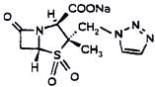 Structure of Tazobactam Sodium