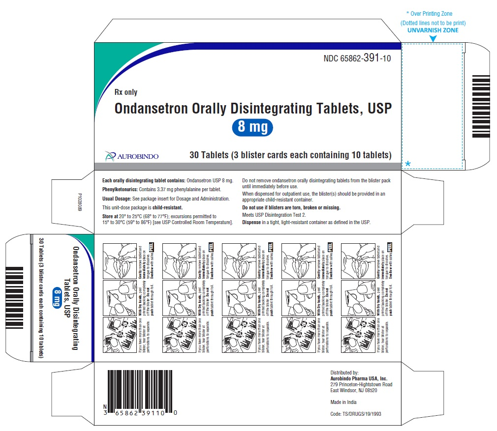 PACKAGE LABEL-PRINCIPAL DISPLAY PANEL - 8 mg Blister Carton (3 x 10 Unit-dose)