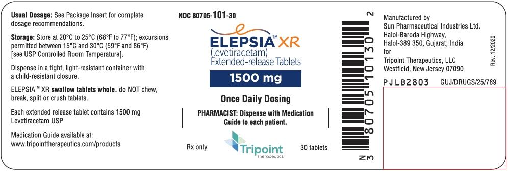 PRINCIPAL DISPLAY PANEL - 1500 mg Tablet Bottle Label