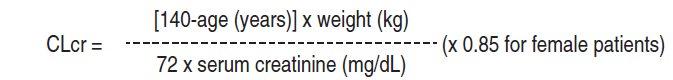 Weight base dosing 2