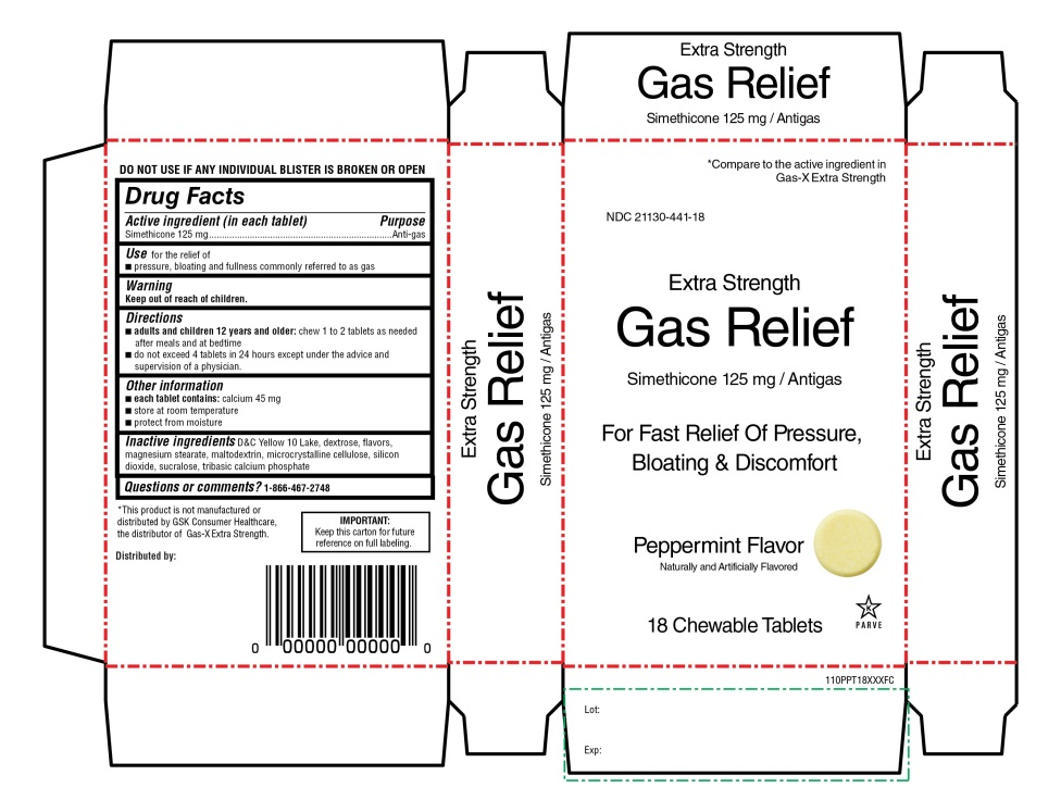Extra Strength Gas Relief 18 Chewable Tablets