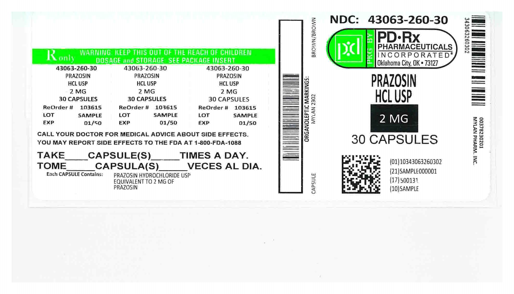 43063260 Label