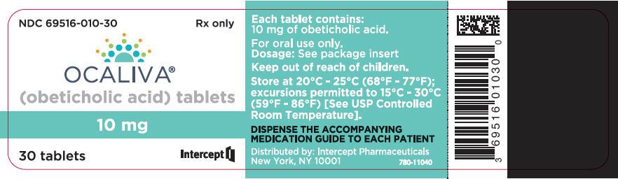 PRINCIPAL DISPLAY PANEL - 10 mg Tablet Bottle Label