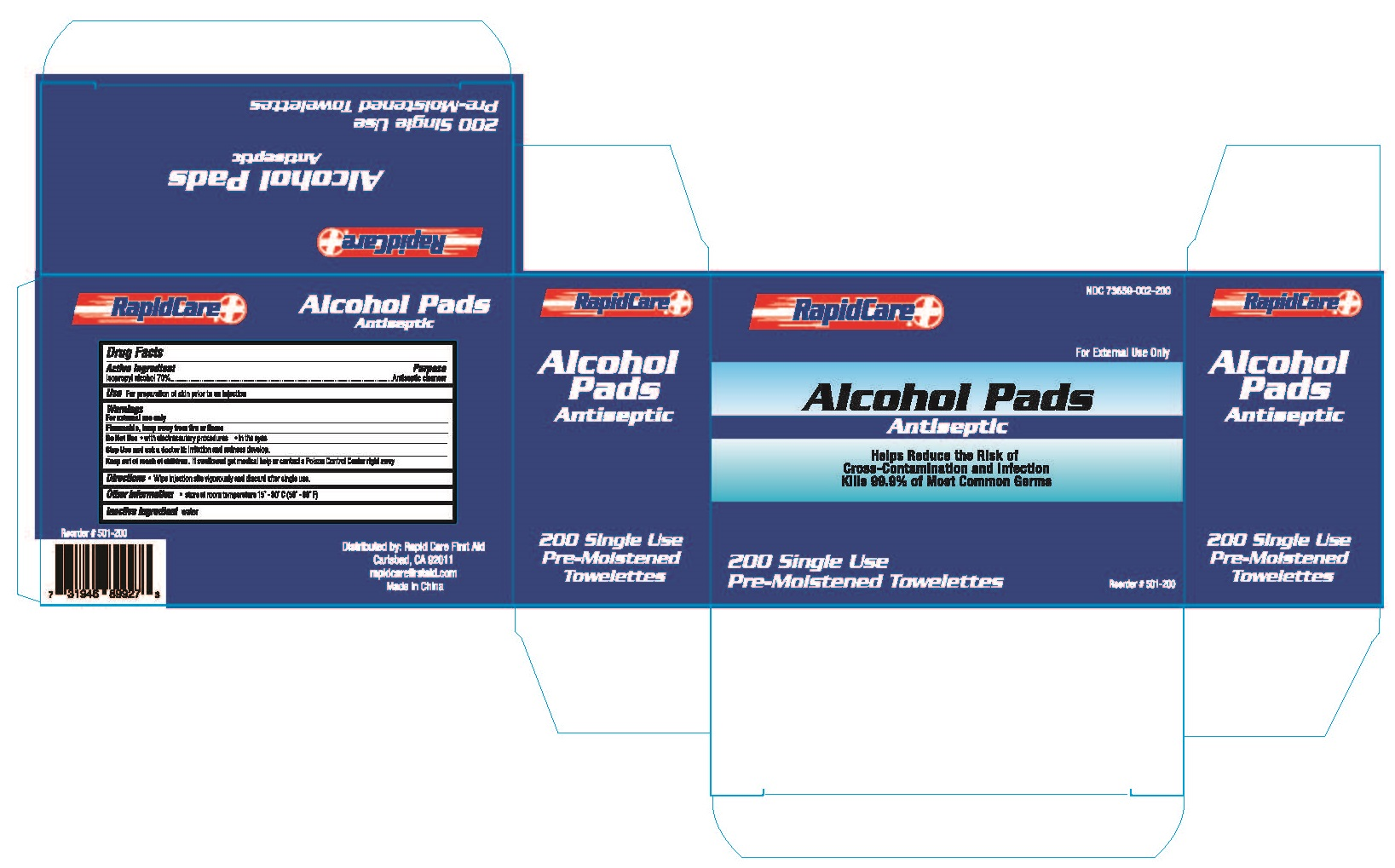 Alcohol Pads 200pcs