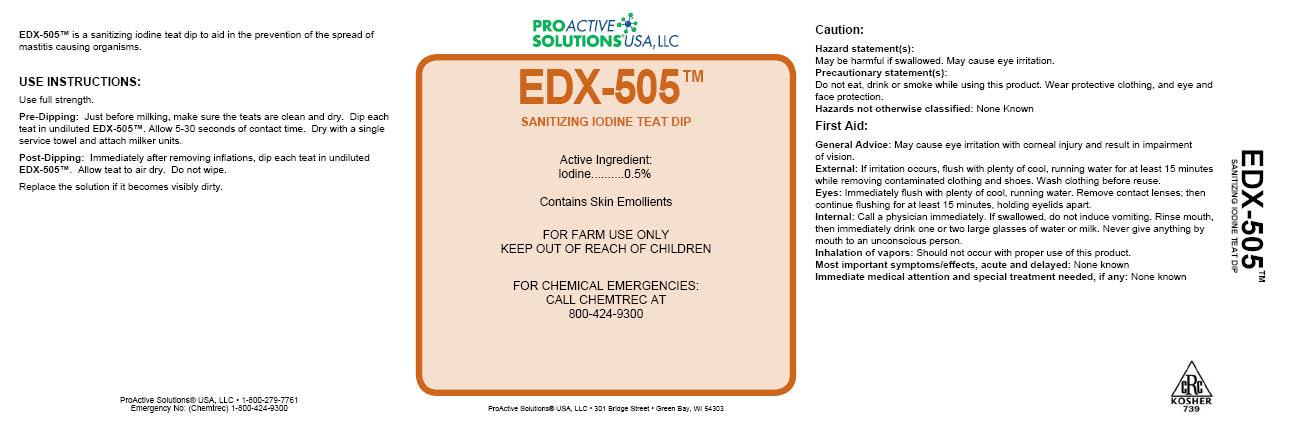 EDX 505