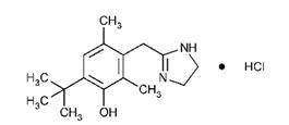 Oxymetazoline Structural Formula
