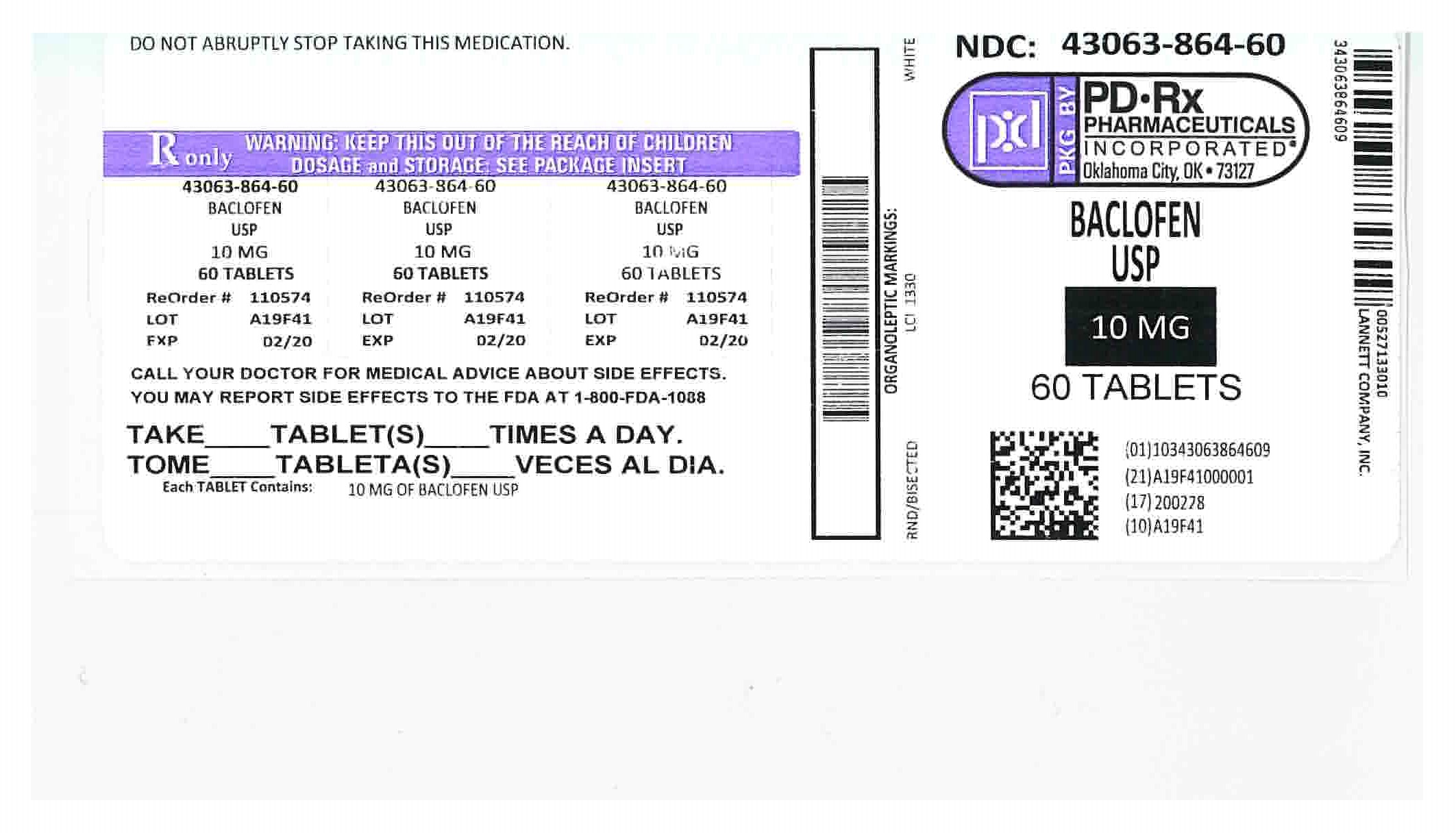 43063864 Label