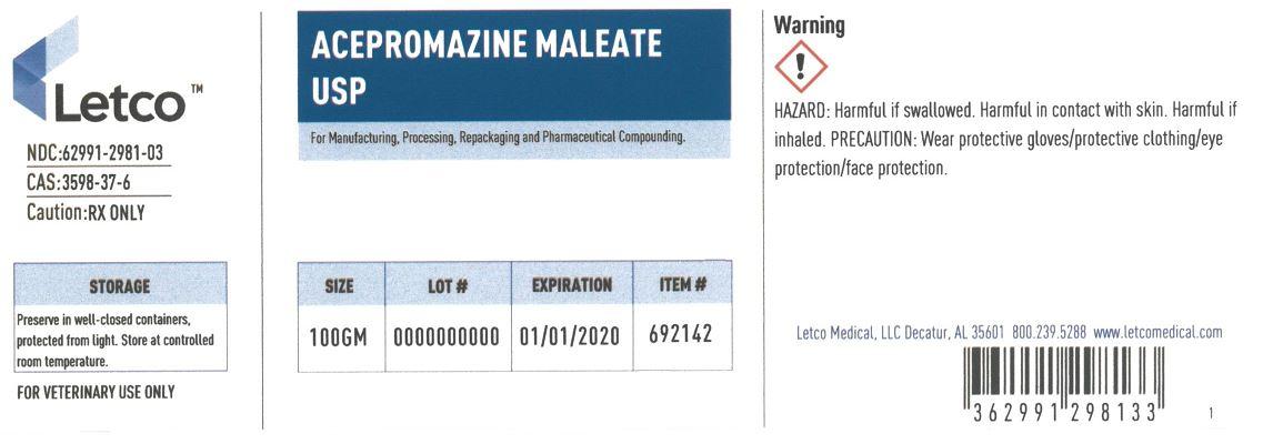 Acepromazine Maleate USP