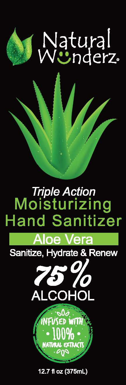 01b LBL_12oz Hand Sanitizer Aloe Vera_front