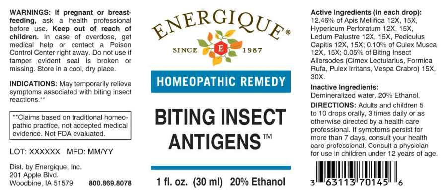 Biting Insect Antigens
