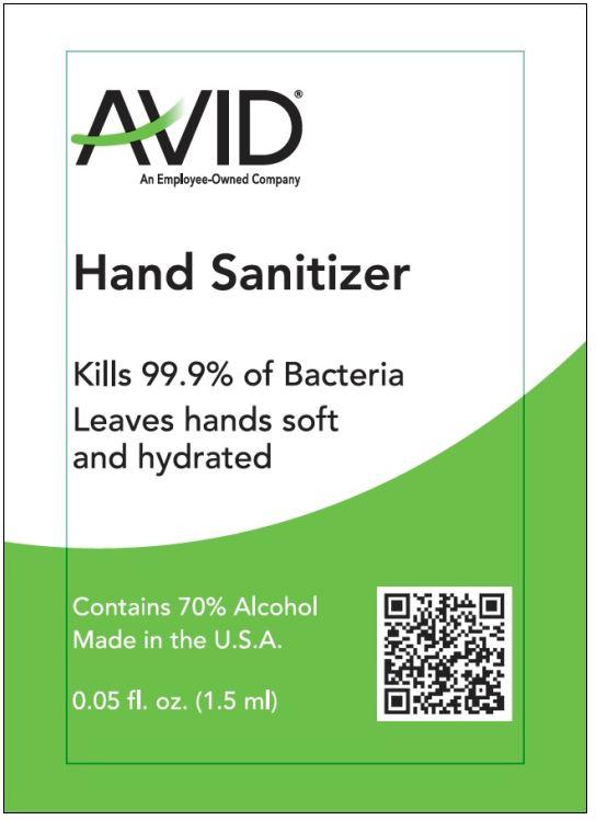 01b LBL_Avid Hand Sani Gel_1.5 mL_front