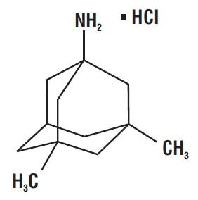 spl-memantine-chemical-structure