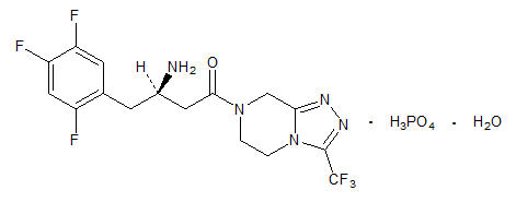 sitagliptin chemical structure