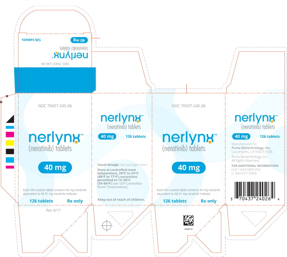 Principal Display Panel - Nerlynx 126 Tablets Carton Label