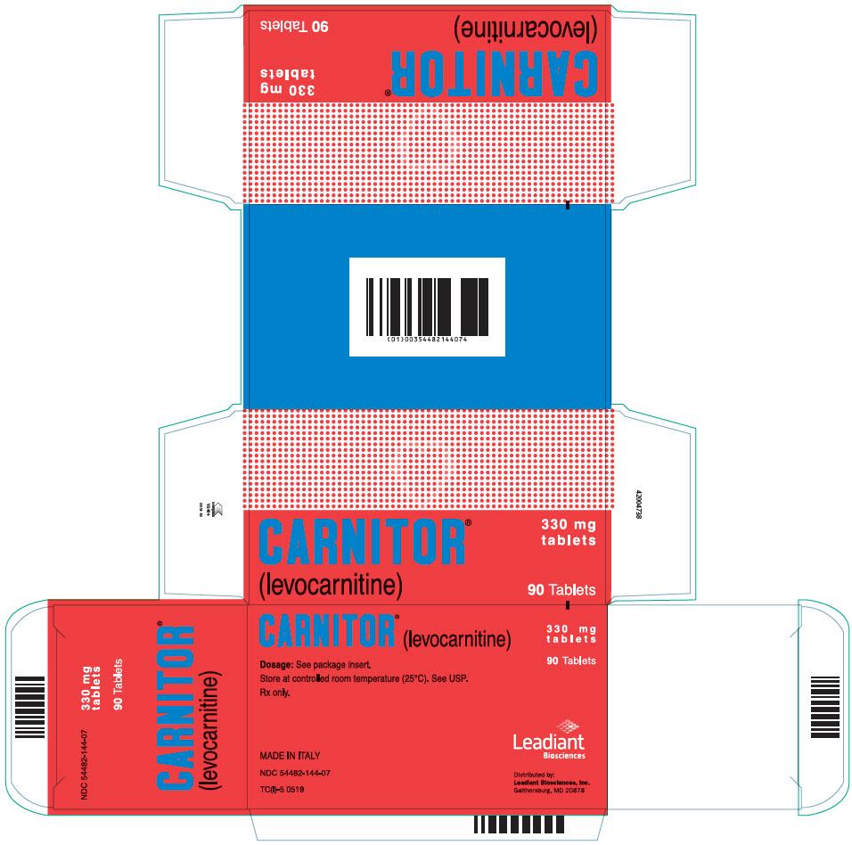 PRINCIPAL DISPLAY PANEL - 330 mg Tablet Blister Pack Carton