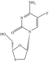Emtricitabine Structural Formula