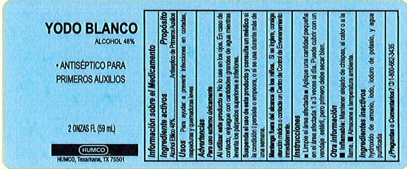 new label spanish