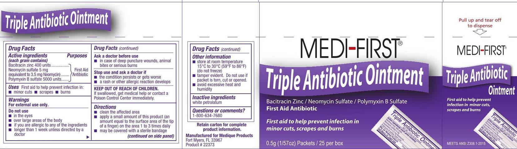 MF Triple Antibiotic Safetec label