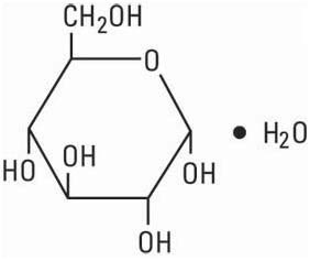 structural formula dextrose