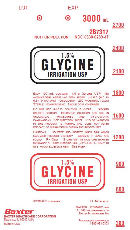 Glycine Representative Container Label