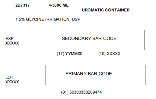 Glycine Representative Carton Label