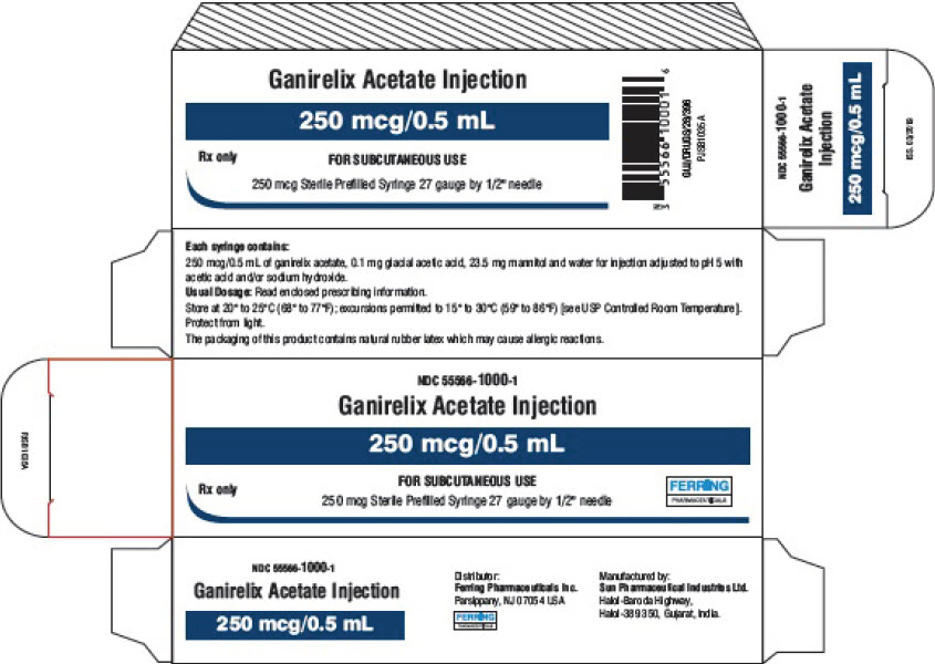 PRINCIPAL DISPLAY PANEL - 0.5 mL Syringe Blister Pack Carton