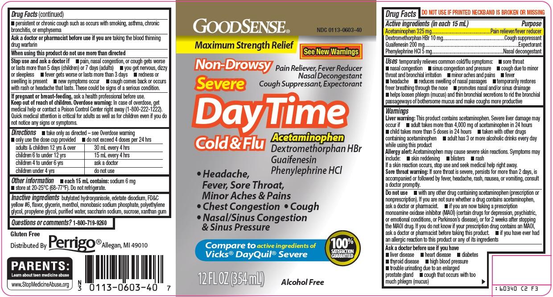GoodSense DayTime Cold & Flu image