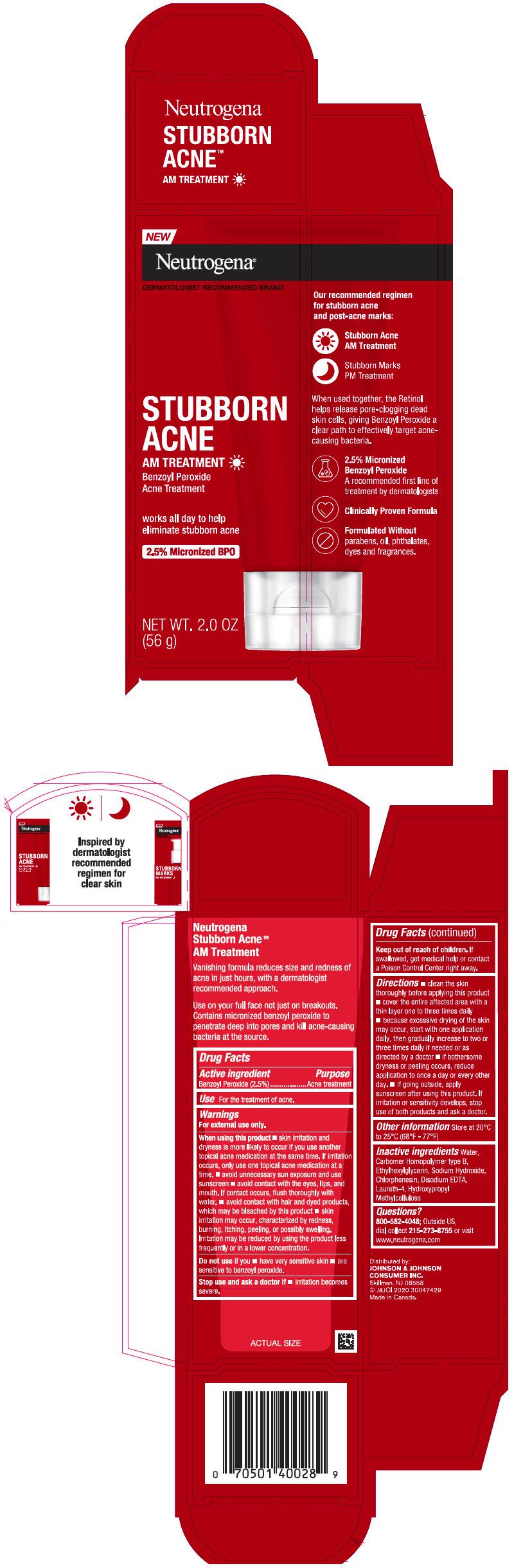 PRINCIPAL DISPLAY PANEL - 56 g Tube Carton