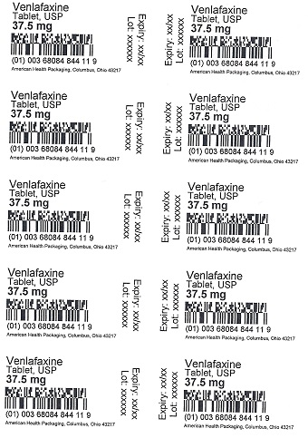 37.5 mg Venlafaxine Tablet Blister