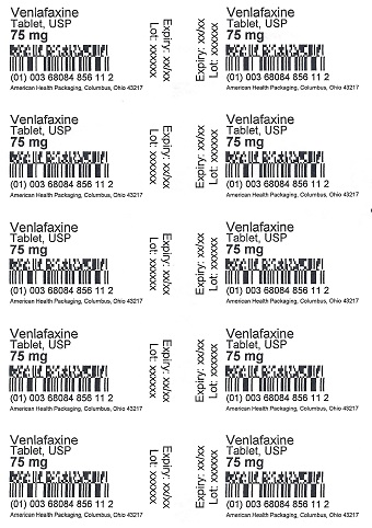 75 mg Venlafaxine Tablet Blister