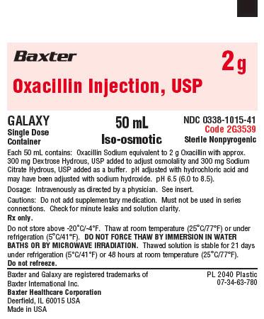 Representative Container Label 0338-1015-41