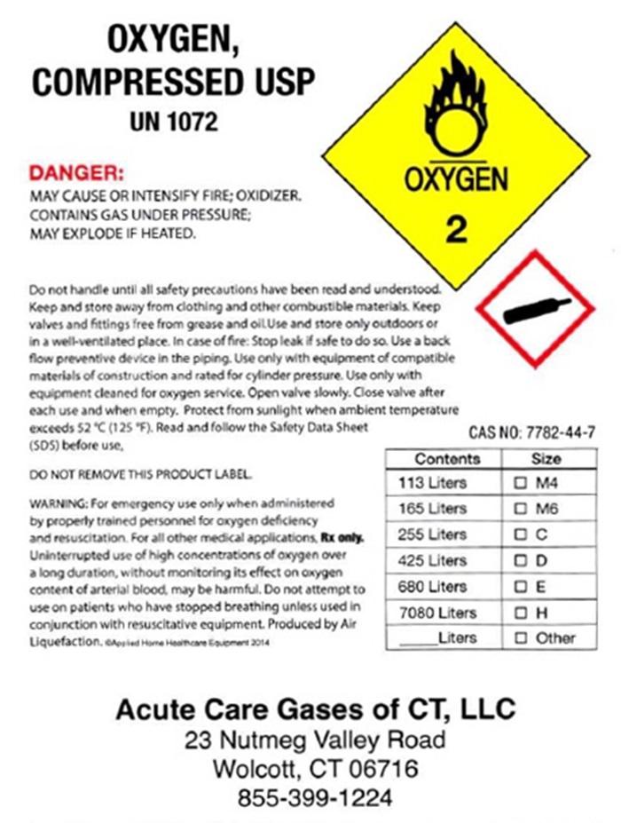 Acute Care Oxygen-Wolcott