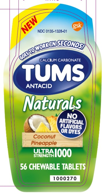 Tums N CP 56 count front label