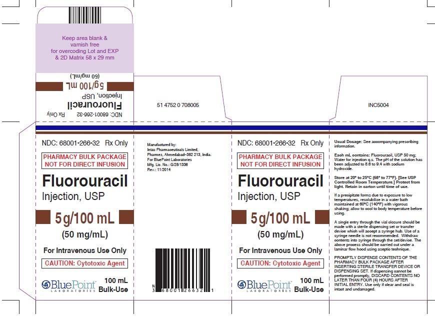 Fluorouracil 50mgml 100ml - Carton - Rev11/14