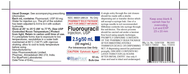 Fluorouracil 50mgml 50ml - Vial - Rev11/14