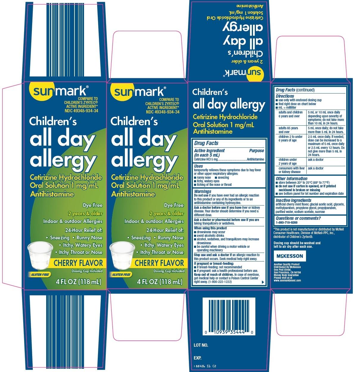 Sunmark Children's All Day Allergy